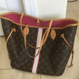 🍒authentic Louis Vuitton Neverfull mm